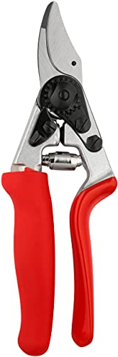 FELCO 11510016 11510016-Podadera ergonomica 1 Mano hasta 20 mm 12, Rojo