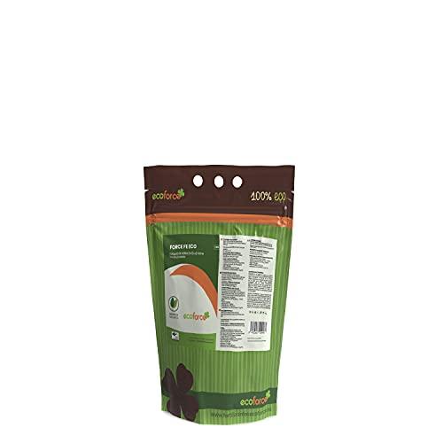 CULTIVERS Quelato de Hierro Fertilizante Ecológico de 1 Kg. Reverdeciente anticlorosis. Nutriente Fundamental para Las Plantas (6% Fe-EDDHA orto orto 4,8 % ). Force Fe, Verde