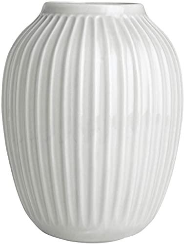 Kähler Hammershøi - Jarrón, cerámica, Blanco, 25 cm