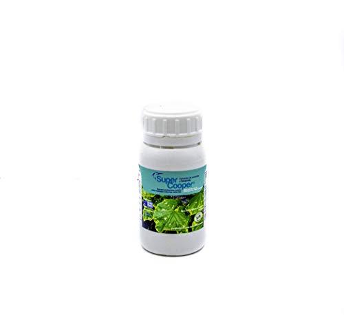 SUPERCOOPER®. Bio Protector- Mildeu/Botrytis/Hongos hojas. Barrera física natural -enfermedades plantas- internas-externas (1.000 m2). Apto Ecológico