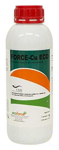 CULTIVERS Force-CU de 1 L. Fungicida de Cobre ecologico Que Mejora el Sistema de Defensa de la Planta Que favorecen el Desarrollo de Enfermedades