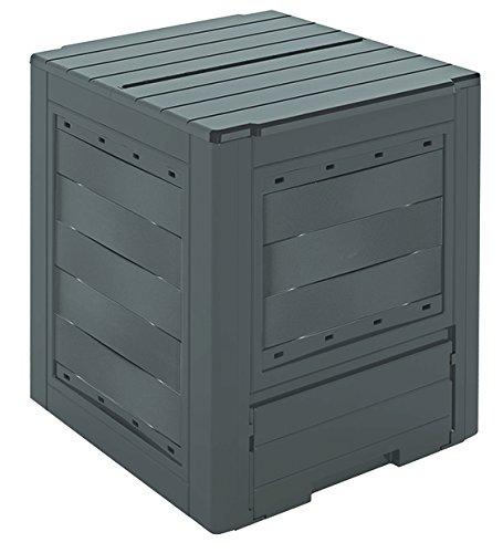 GARDIUN KIG12961 - Compostador Organic 260 L 60x60x73 cm Plástico Reciclado