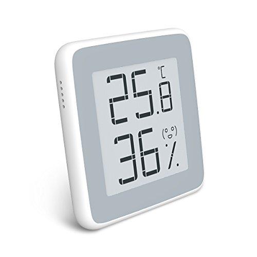 Homidy Higrómetro digital para interior, E-Ink pantalla HD, termómetro digital e higrómetro para interior