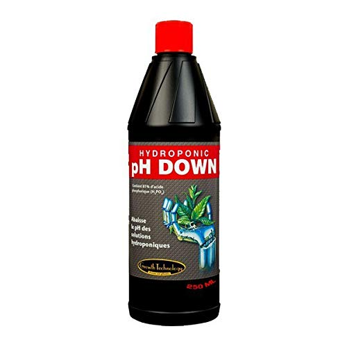 Growth Technology - Abono regulador de pH PH Down 250 ml