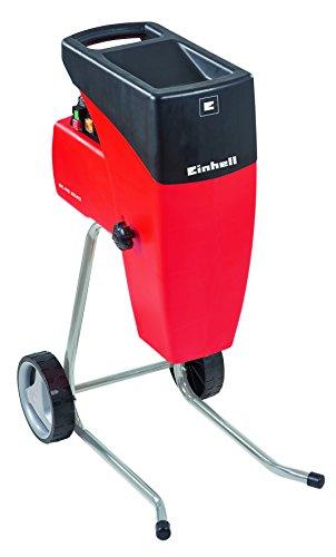 Einhell 3430620 Biotrituradora eléctrica silenciosa, 2000 W, 220 V, Negro, Rojo