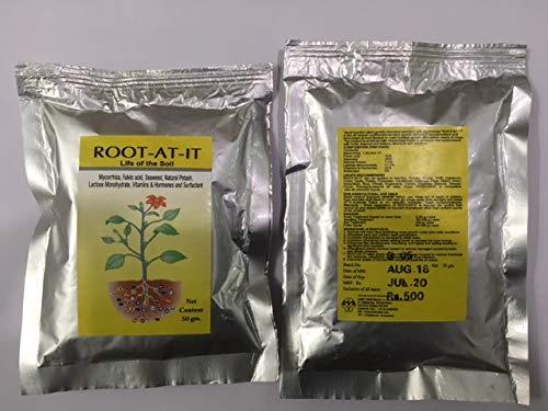 ROOT AT IT Mycorrhiza - Germinador de Semillas orgánicas aeropónicas de 50 g para 2500 plantletas o Semillas