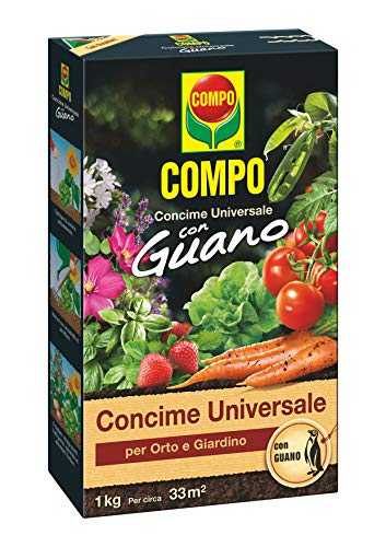 COMPO - Abono Guano Universal Compo 1 Kg