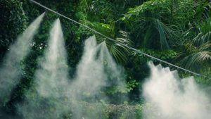 Qué es el riego por nebulización