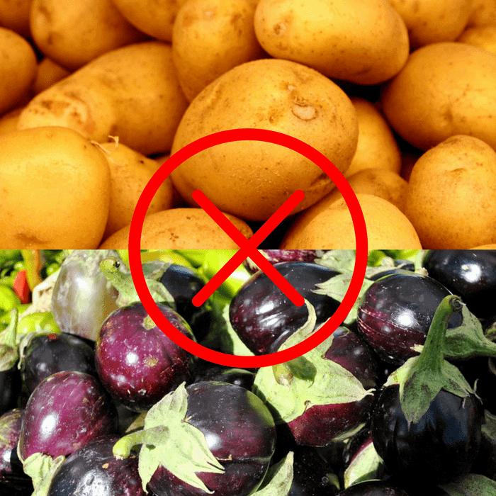 Patatas y Berenjenas no son buenas compañeras de huerto