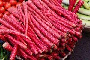 Variedades de zanahorias - Zanahoria roja