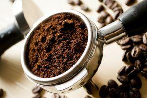 Granos de café y nitrógeno
