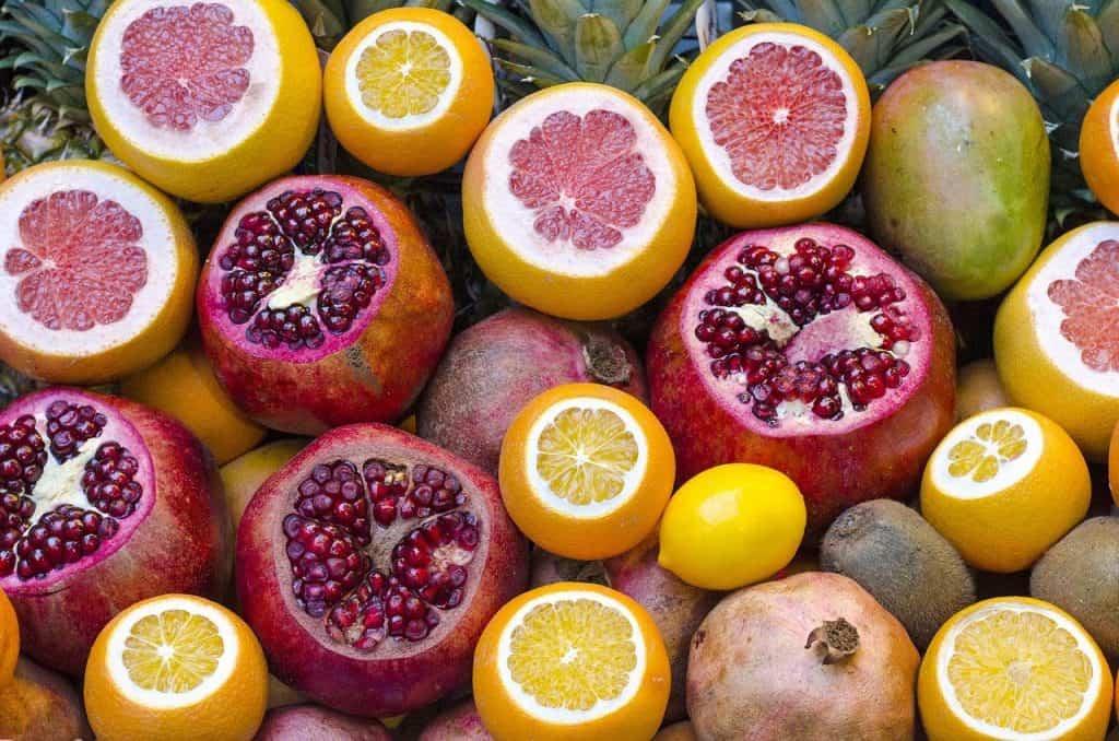 Pomelo fruto tropical