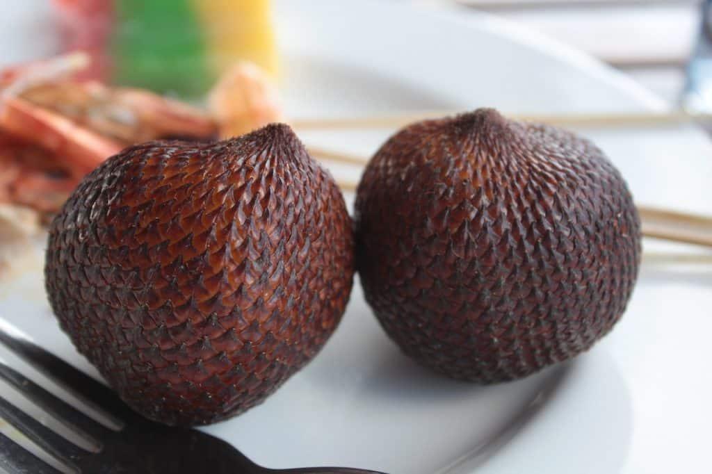 Salak frutas tropicales